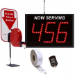Next Please! 3 Digit Single Display High Quality Series RF Wireless Packaged System
