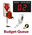 Budget Queue Series Low Cost RF Wireless Take a Number Systems
