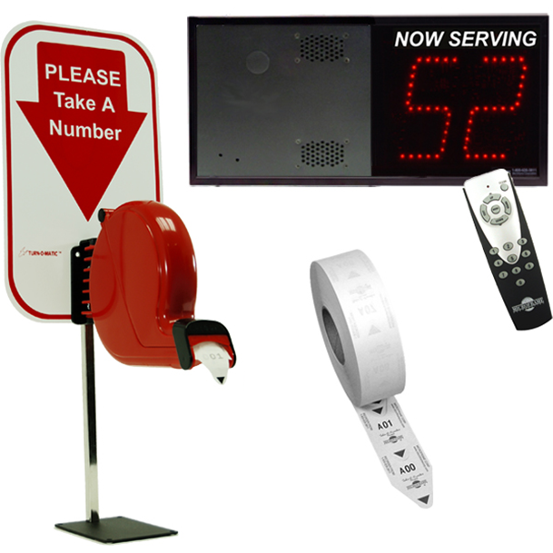 a queuing system A waiting line, or queuing, system has three parts, which are a distribution of arrival times, discipline while waiting, and distribution of service times b arrival rate, service rate, and utilization rate.
